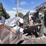 لاشه خودروی حمله تروریستی چابهار + عکس